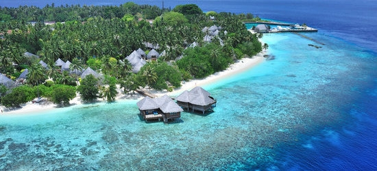 4* Maldives: 7 nights + flights