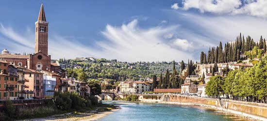 4* Verona: 2 nights + flights