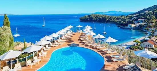 Adults only 4* Corfu getaway w/breakfast & flights