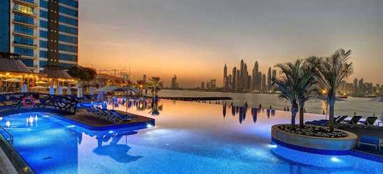 5* Luxury Dubai getaway w/breakfast & flights