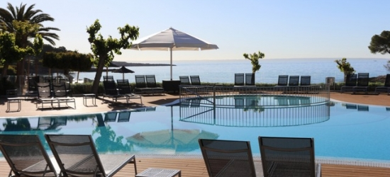 $ Based on 2 people per night | Stylish Mallorca spa hotel right on the beach, Hotel Son Caliu Spa Oasis, Spain