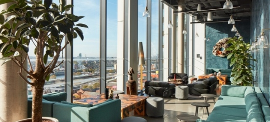 Based on 2 people per night | Contemporary London stay at a hip, newly-opened co-living space, The Collective Canary Wharf, Canary Wharf, London