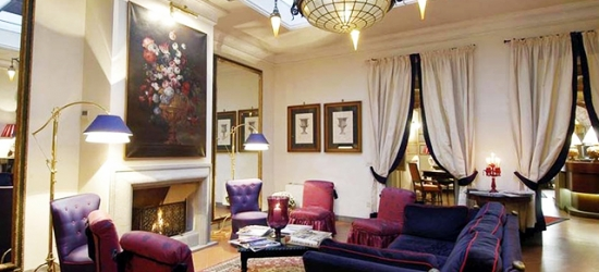 $ Based on 2 people per night   Classic Florentine hotel in a great location, Hotel Cellai, Italy