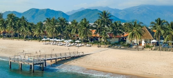 $ Based on 2 people per night | Elegant Vietnamese resort along Nha Trang Beach, Evason Ana Mandara Nha Trang, Vietnam