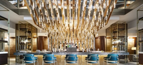 $ Based on 2 people per night | 5* resort outside Barcelona's city center, Fairmont Rey Juan Carlos I, Spain