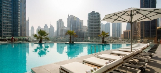 $ Based on 2 people per night | 5* Dubai stunner in the glittering Marina, Intercontinental Dubai Marina, United Arab Emirates