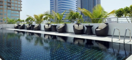 Based on 2 people per night   5* Dubai marina stay with a rooftop pool, Pullman Dubai Jumeirah Lakes Towers, UAE