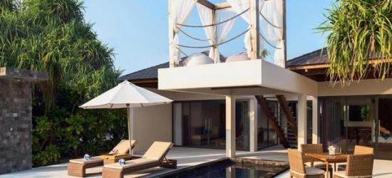 $ Based on 2 people per villa per night   All-inclusive 5* Maldives escape with water villa option, Movenpick Resort Kuredhivaru Maldives, Noonu Atoll