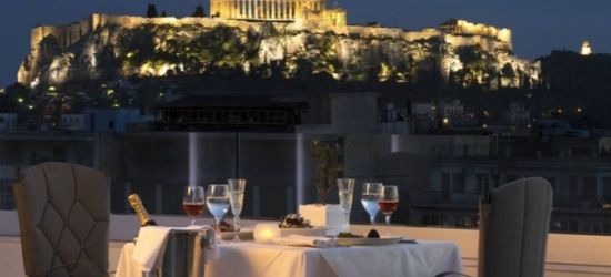 $ Based on 2 people per night | Lovely Athens pad with views of the Acropolis, Titania Hotel, Greece