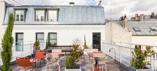 $ Based on 2 people per night | Brand-new concept hotel in Paris' 10th arrondissement, Le Grand Quartier Hotel, France