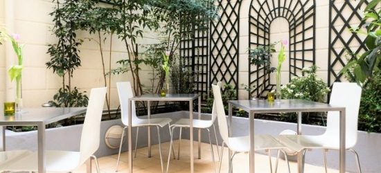 Based on 2 people per night | Modern and cozy Paris hotel near Parc Monceau, Hotel Glasgow Monceau, Paris, France