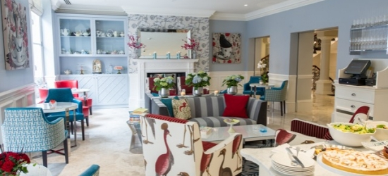 $ Based on 2 people per night   Upscale London boutique hotel in posh South Kensington, The Ampersand Hotel, London