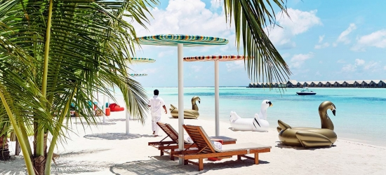 Maldives: Luxury beach holiday w/cruise & kids eat free