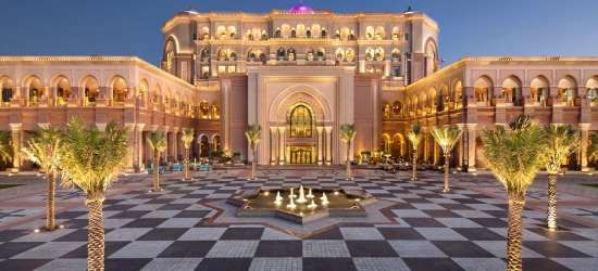 Abu Dhabi: luxury beach break & meals, save 25%