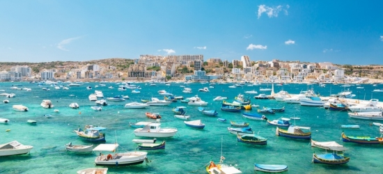 ✈ Malta: 3, 4 or 7 Nights at a Choice of 4* Hotels with Return Flights*