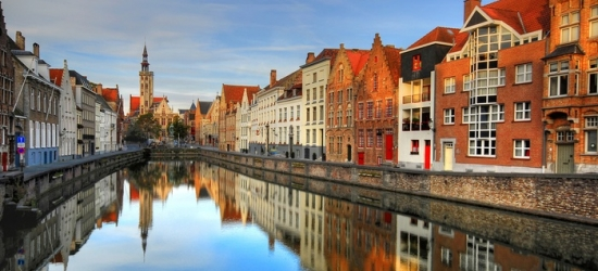 Bruges: Comfort Room for Two or Family Room for Four with Breakfast at Green Park Hotel Brugge