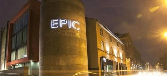 Liverpool: Super-Luxe Studio for 2 to 4, 1-Bedroom Luxe up to 5, or 2-Bedroom Luxe for up to 7 Adults at EPIC Aparthotel