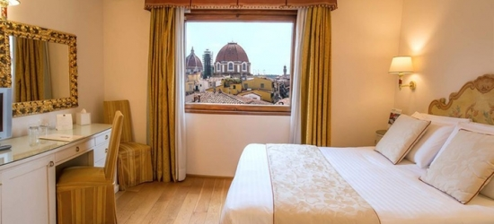 ✈ Florence: 2-4 Nights at 4* Hotel Atlantic Palace with Flights*