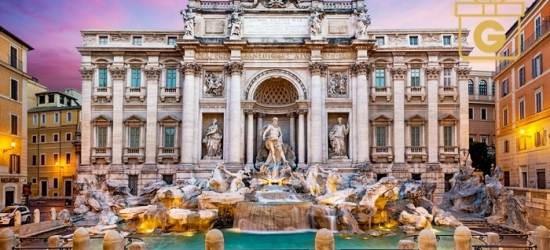 ✈ Rome and Venice: 4 or 6 Nights at a Choice of Hotels with Return Flights and Train Transfers*
