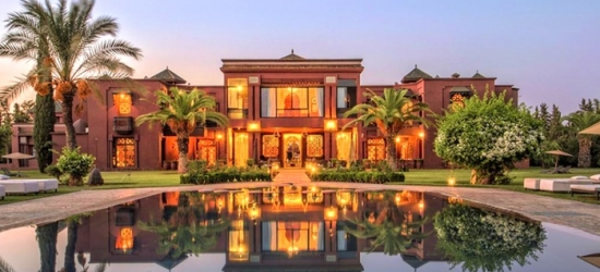 Marrakech: Deluxe Room for Two with Breakfast and Option for Transfers, Massage and Half Board at Palais Clementina
