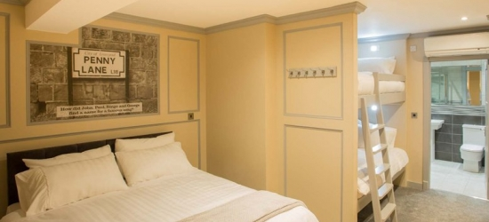 1-2nt Liverpool Getaway & Wine for 2 @ Central Station Hotel