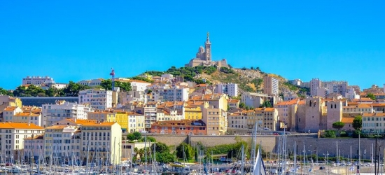Marseilles City Getaway with Nearby Attractions & Eurostar Travel