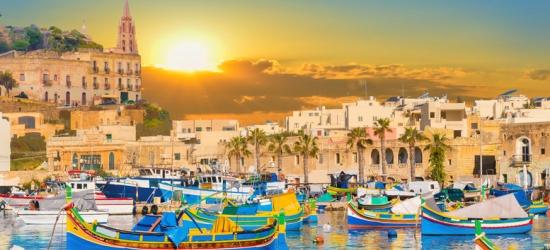Malta Beach Stay, Breakfast & Return Flights