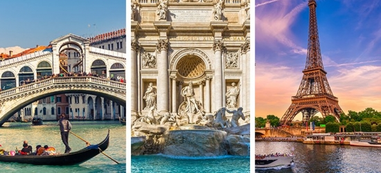 Venice, Rome & Paris Multi-City Getaway, Transfers