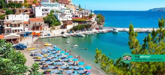 4* Half Board Crete Getaway, Flights & Junior Suite with Jacuzzi