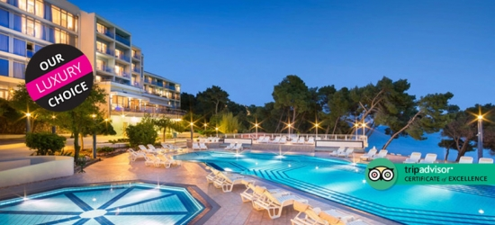 4* Croatia Stay, Breakfast  - Beachfront Location!