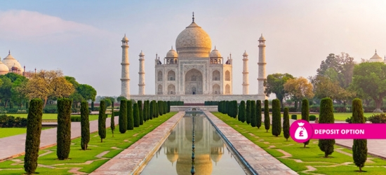 7nt India Tour, Breakfast, Transfers  - Golden Triangle!