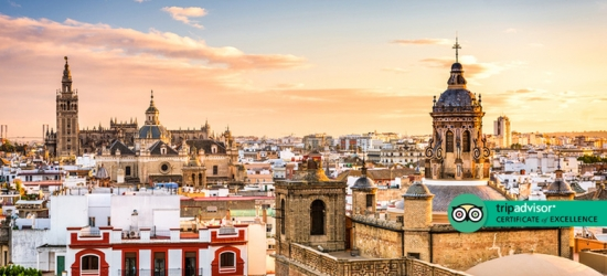 Central Seville City Escape  - Award-Winning Hotel!