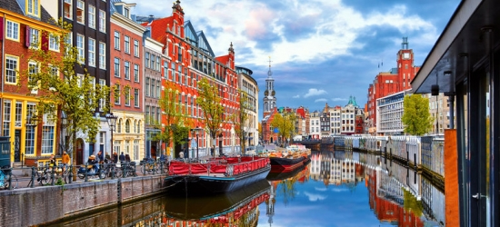 Amsterdam City Escapes & Return Eurostar - City Centre Location!