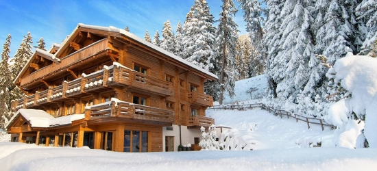 Win a stay for four at Richard Branson's Verbier Lodge, Switzerland
