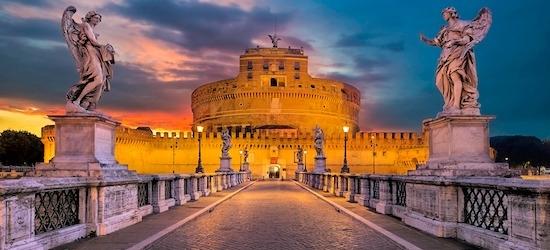 4* Rome city break w/breakfast & flights