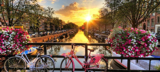 4* Amsterdam break w/flights
