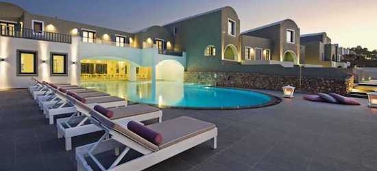 5* Santorini: 3 nights + flights