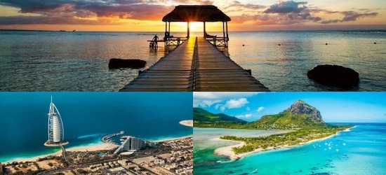 Dubai & Mauritius: Emirate City & All Inclusive Paradise