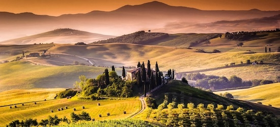 3* Tuscany: 7 nights + flights (4.5/5 on TripAdvisor)