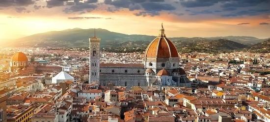 4* Florence: 3 nights + flights