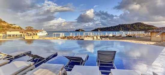 5* all-inc luxury Antigua stay in a Jnr Suite w/flts
