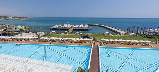 5* all-inclusive beachfront week in Turkey w/flights