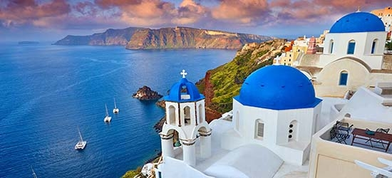 Luxury 5* Santorini week w/flights