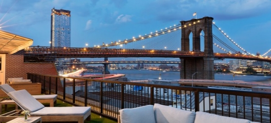 $ Based on 2 people per night | Chic & contemporary downtown NYC hotel, Mr. C Seaport, Manhattan