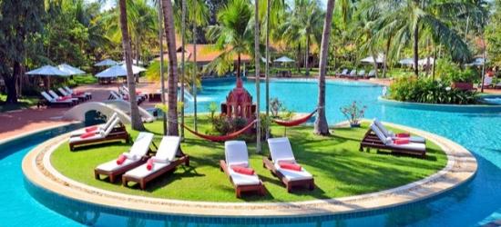 $ Based on 2 people per night | Luxury Siem Reap sanctuary near Angkor Wat, Sofitel Angkor Phokeethra Golf & Spa Resort, Cambodia