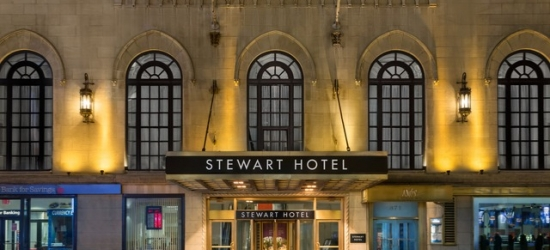 Based on 4 people per night | Grand Midtown base in the heart of Broadway, Stewart Hotel, New York
