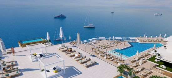 $ Based on 2 people per night | Brand-new Mallorca luxury seafront hotel, Elba Sunset Mallorca, Spain