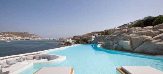 $ Based on 2 people per night | Sleek & stylish Mykonos beach retreat, Dreambox Mykonos Suites, Greece