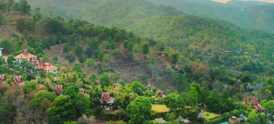 $ Based on 2 people per night   Hidden mountain spa retreat near Chiang Mai, Panviman Chiang Mai Spa Resort, Thailand