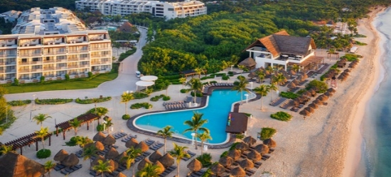 $ Based on 2 people per night | 5* all-inclusive Riviera Maya beach haven, Ocean Riviera Paradise, Mexico